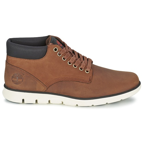 Timberland BRADSTREET CHUKKA LEATHER Baskets montantes Marron