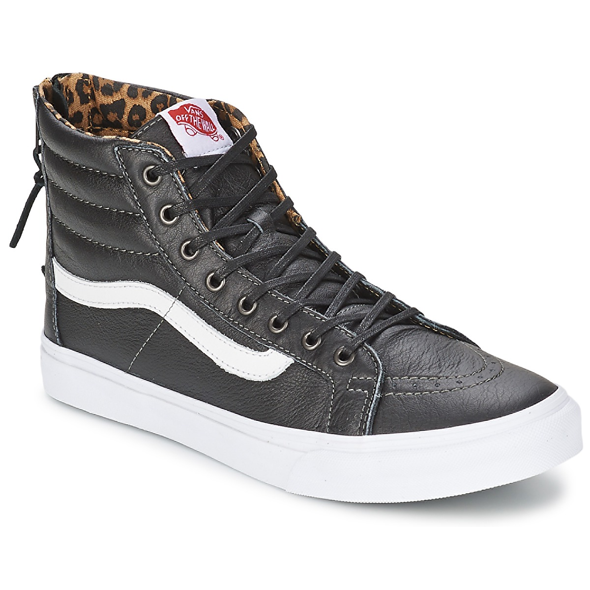 baskets montantes vans sk8 hi slim zip baskets femme spartoo ventes pas. Black Bedroom Furniture Sets. Home Design Ideas