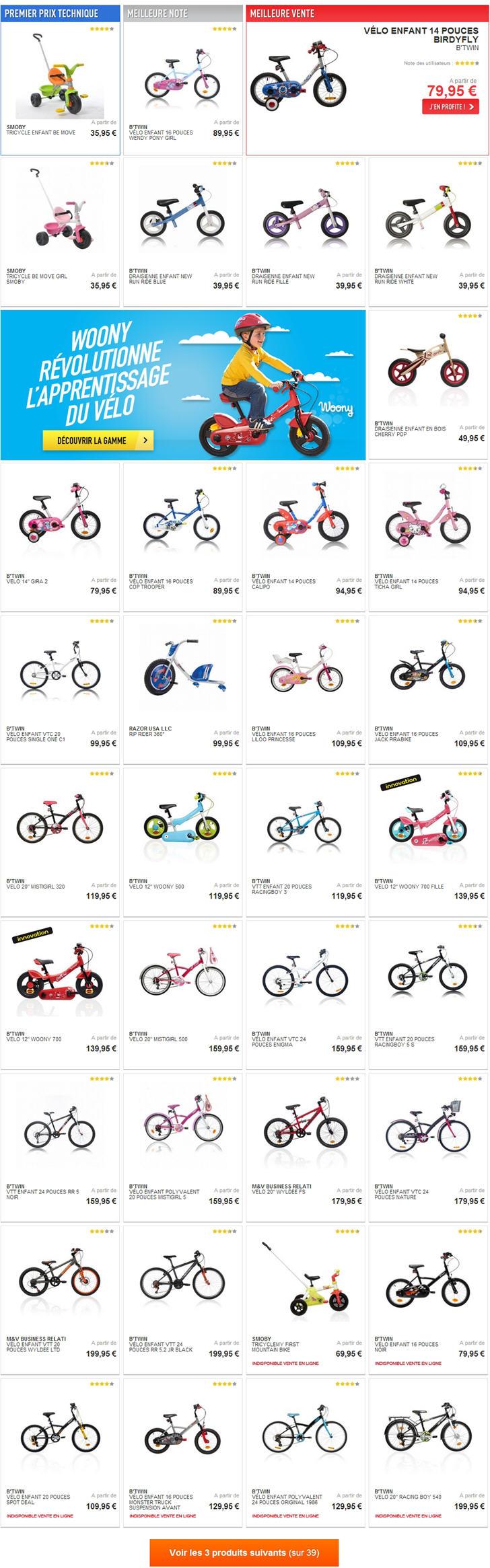 Vélo Enfant Decathlon