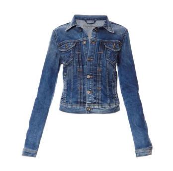 veste en jean mikas bleu delave pepe jeans london femme brandalley