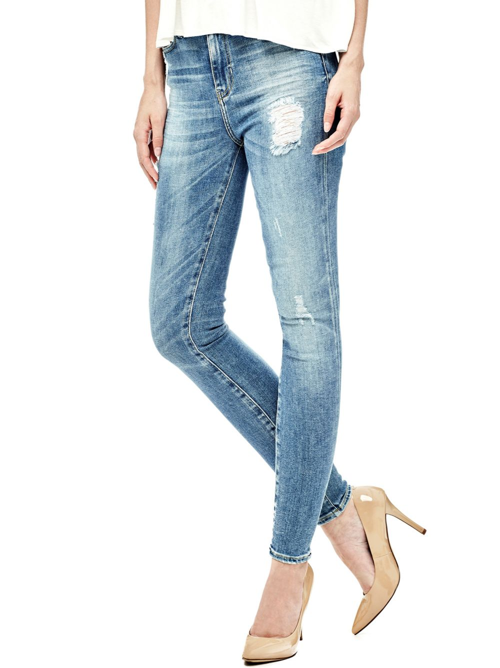 JEAN ABRASIONS ECODENIM Guess
