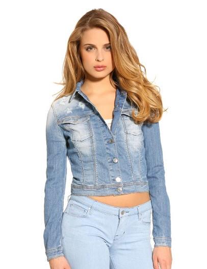 Veste en jean guess femme