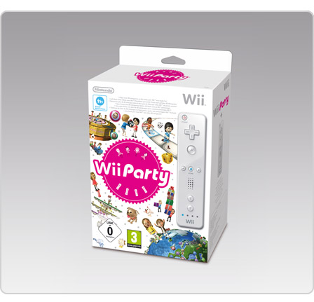 Wii PARTY + Télécommande Blanche (Wii) - prix 49,99 euros micromania.fr