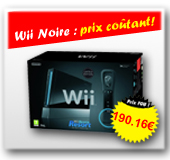 CONSOLE Wii NOIRE SPORTS RESORT