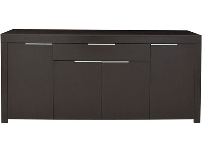 promo buffet conforama bahut 4 portes 1 tiroir rubis prix 179 00 euros ventes pas. Black Bedroom Furniture Sets. Home Design Ideas