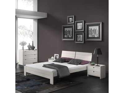 soldes lit conforama lit 140 cm commode 2 chevets cecilia ventes pas. Black Bedroom Furniture Sets. Home Design Ideas