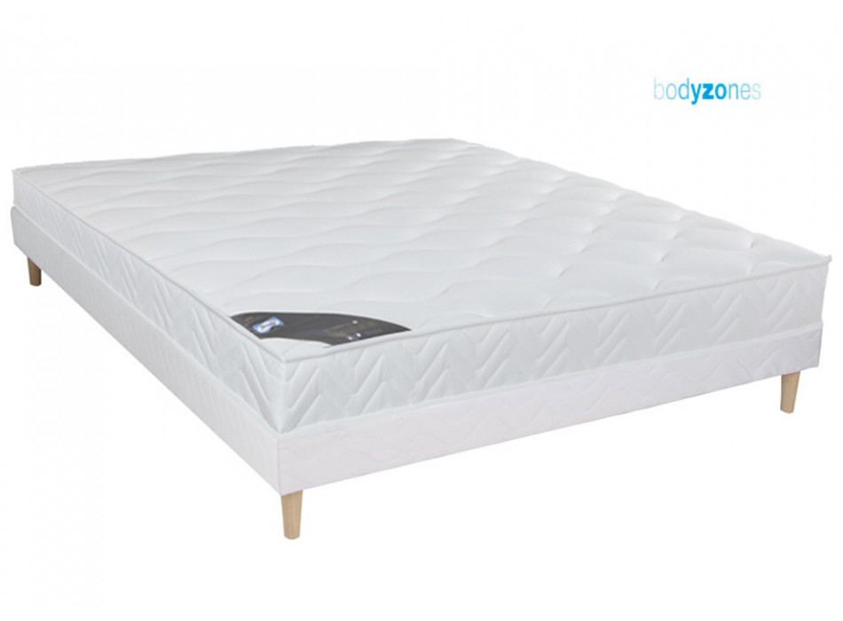 soldes vente unique ensemble sommier matelas 100 latex salome de sealy prix 399 00 euros. Black Bedroom Furniture Sets. Home Design Ideas