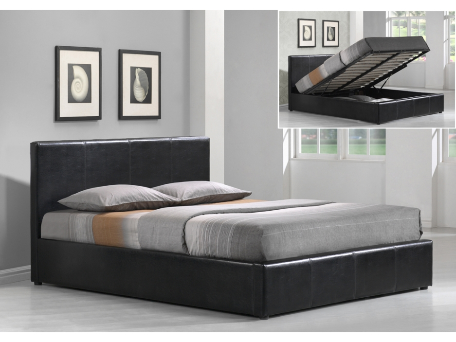 lit pas cher vente unique lit coffre tremplin prix 329 99 euros ventes pas. Black Bedroom Furniture Sets. Home Design Ideas