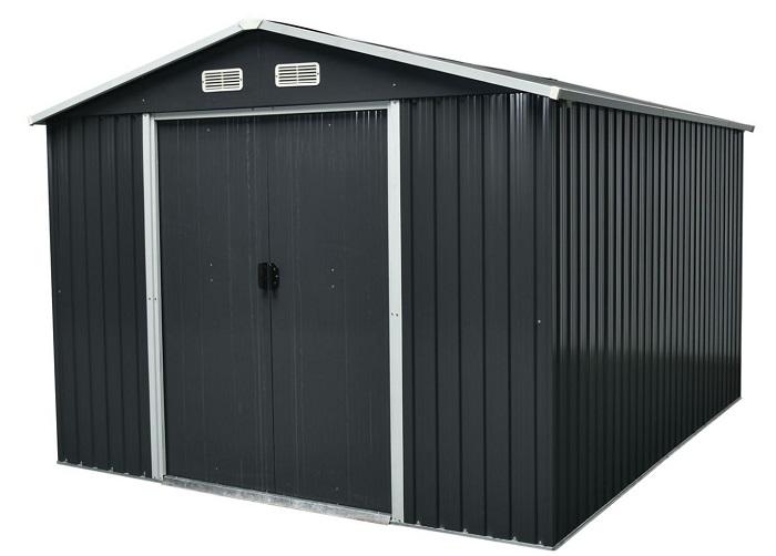 Abri de jardin métal Basic 8,4 m²