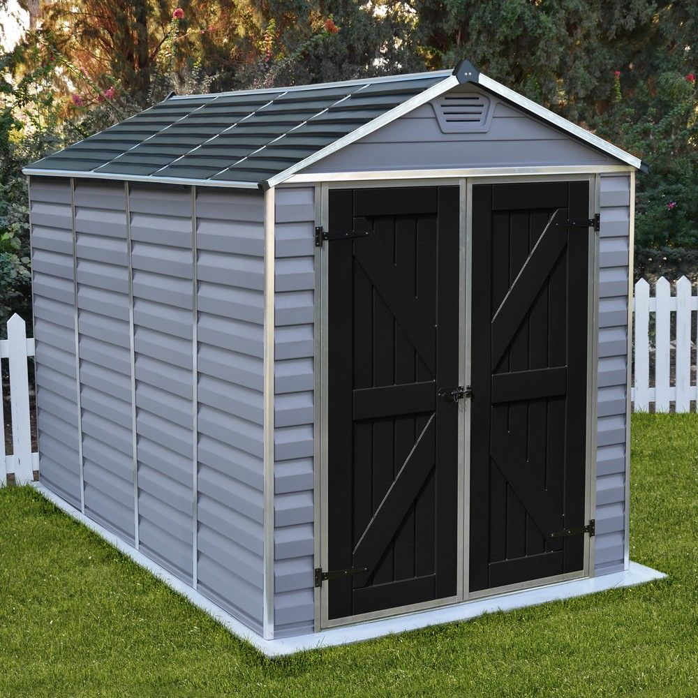 Abri Vélo Pas Cher abri de jardin résine palram skylight 5,6 m² pas cher - abri de jardin gamm  vert