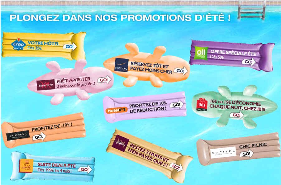 Promotion Accor Hotels