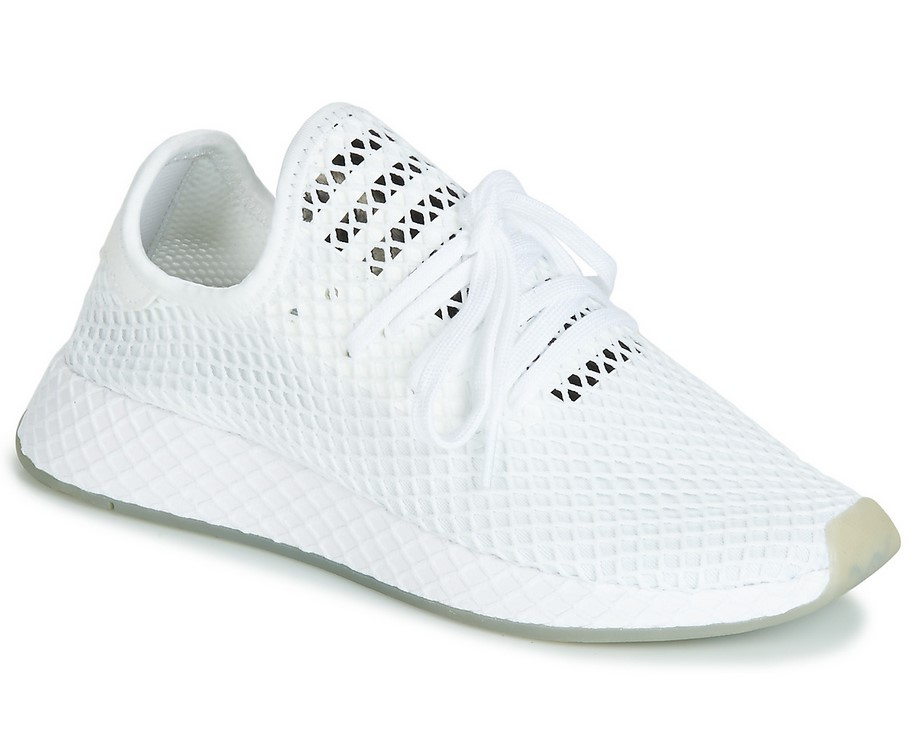 Adidas Originals DEERUPT RUNNER Baskets Basses Blanc