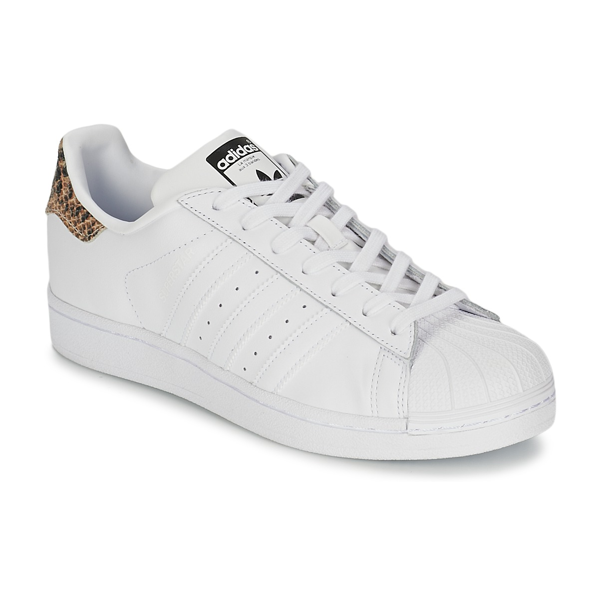 baskets basses adidas originals superstar w blanc baskets femme spartoo ventes pas. Black Bedroom Furniture Sets. Home Design Ideas