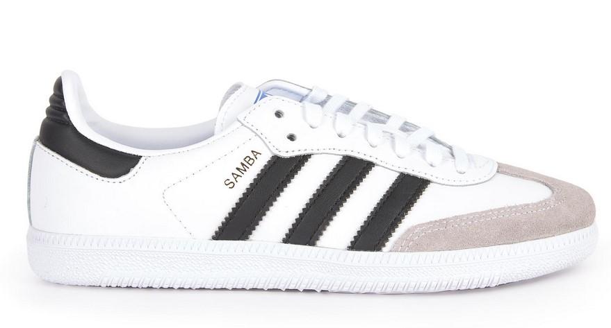 Adidas Originals Samba OG Baskets à lacets en cuir - Melijoe