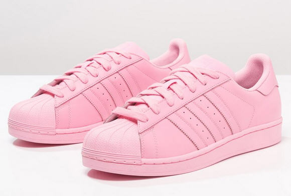 Adidas Originals SUPERCOLOR SUPERSTAR Baskets basses light pink