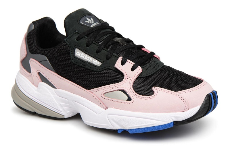 Adidas Originals Falcon W Baskets Basses Noiess/Noiess/Rosleg - Baskets  Femme Sarenza