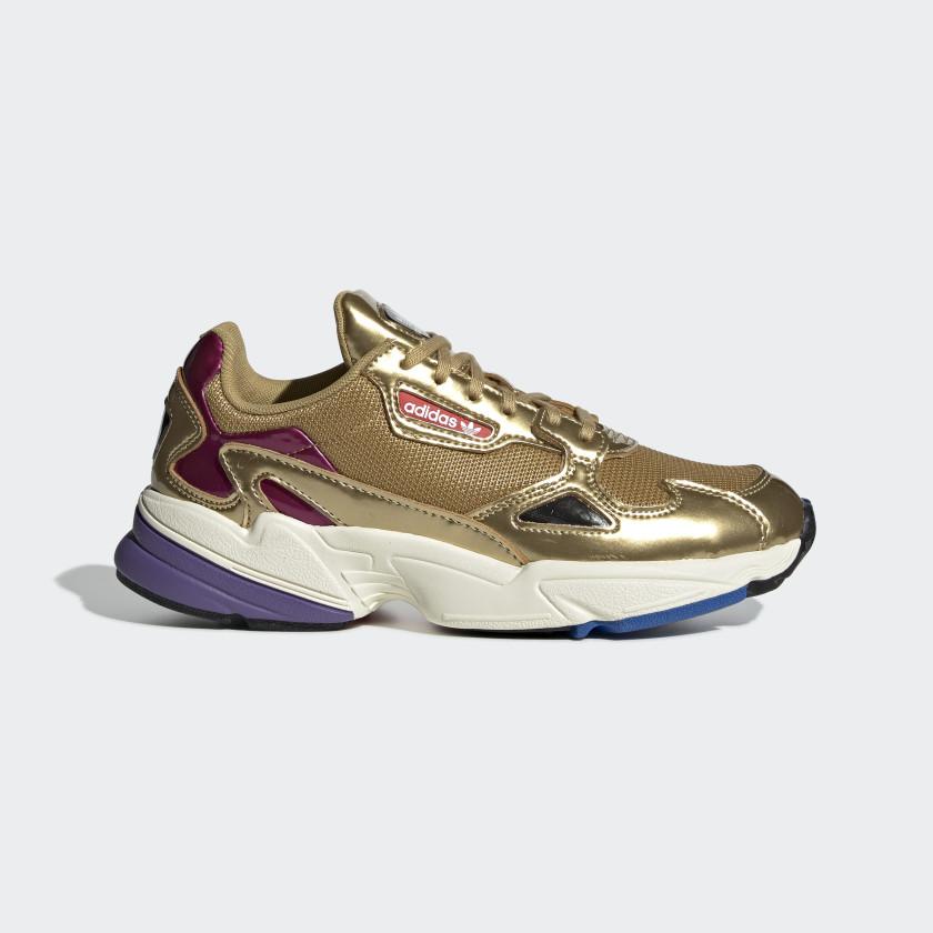 Adidas Originals Falcon W Baskets Basses NoiessNoiess