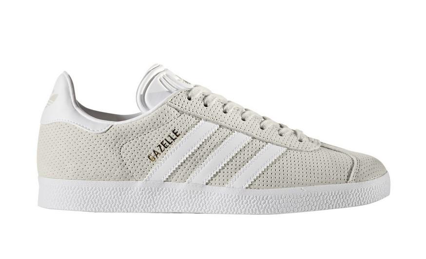 Adidas Originals GAZELLE Baskets en cuir mélangé gris