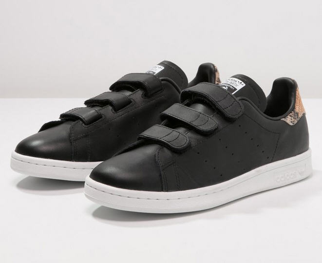Adidas Originals STAN SMITH Baskets basses core black/white