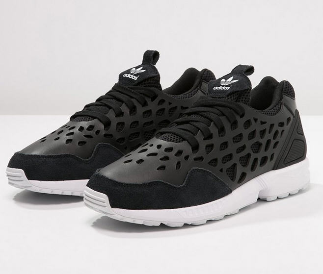 Adidas Originals ZX FLUX Baskets basses core black/white