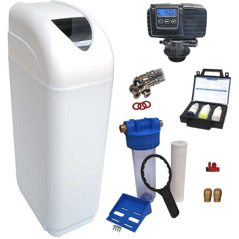 Adoucisseur d'eau 30L Fleck 5600 SXT complet avec accessoires - ManoMano