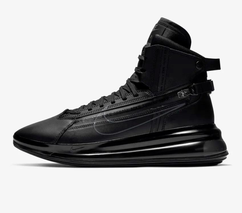 code promo 0140a d6d31 Nike Air Max 720 Noir/Gris foncé pas cher - Baskets Homme Nike