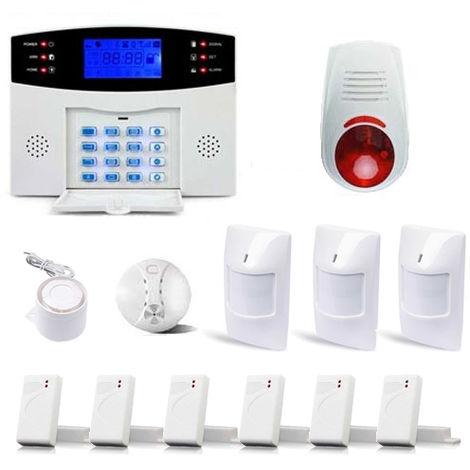 Alarme Maison Sans fil GSM 99 zones XXL BOX avec sirène - ManoMano