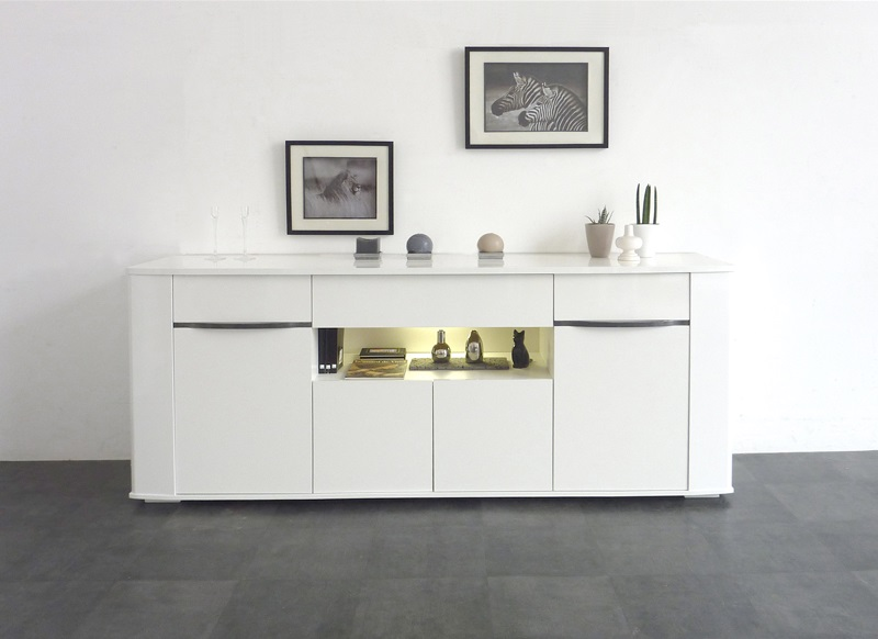 buffet laqu blanc bercy pas cher buffet achatdesign ventes pas. Black Bedroom Furniture Sets. Home Design Ideas