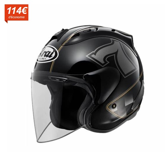 arai casque jet sz ram x cafe racer black noir casque jet cdiscount soldes cdiscount top. Black Bedroom Furniture Sets. Home Design Ideas