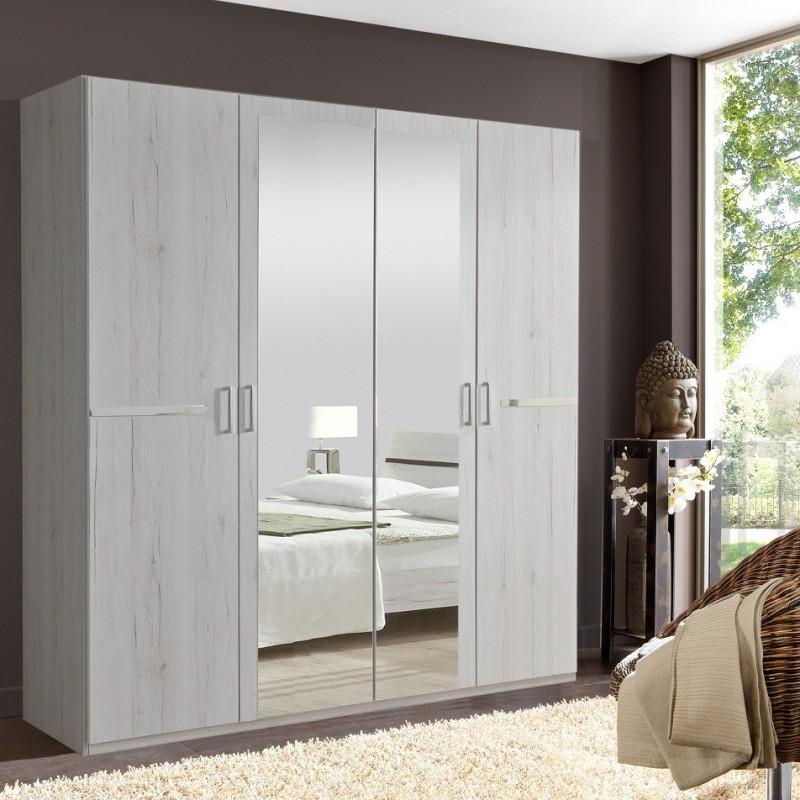 armoire design 2 miroirs nahla atylia armoire atylia. Black Bedroom Furniture Sets. Home Design Ideas