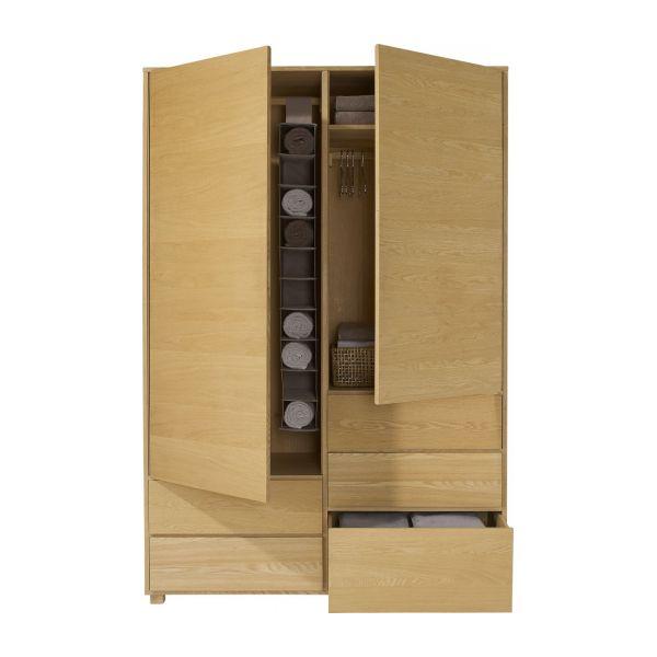 soldes armoire habitat hana ii armoire en ch ne habitat. Black Bedroom Furniture Sets. Home Design Ideas