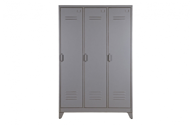 armoire m tal industrielle trevos armoire miliboo. Black Bedroom Furniture Sets. Home Design Ideas