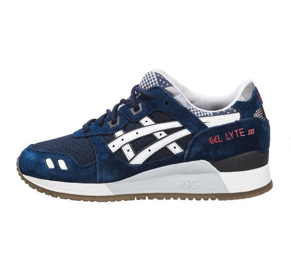 asics gel lyte iii baskets basses blau wei baskets femme zalando ventes pas. Black Bedroom Furniture Sets. Home Design Ideas