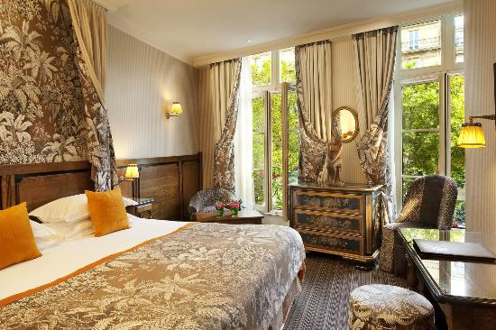 H tel au manoir st germain des pr s 4 paris venere for Hotel meuble paris au mois pas cher