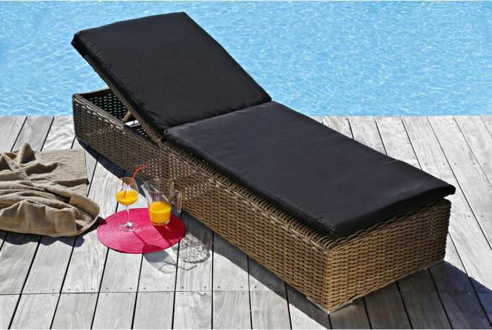 matelas pour bain de soleil pas cher. Black Bedroom Furniture Sets. Home Design Ideas