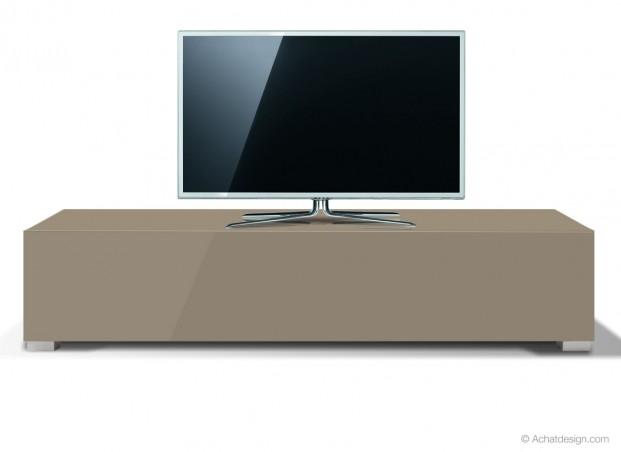 Meuble tv achat design promo banc standard l laqu prix for Banc tv design pas cher