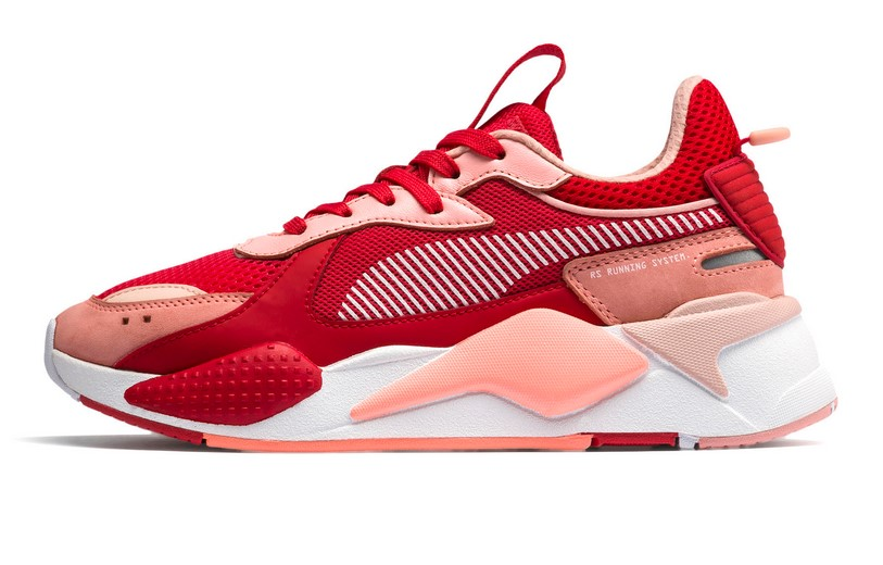 PUMA RS-X Toys Baskets basses Bright Peach-High Risk Red pour Femme