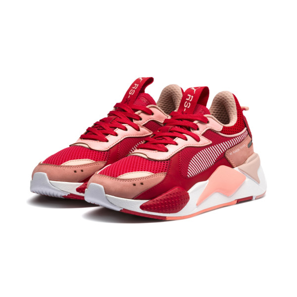 PUMA RS-X Toys Baskets basses Bright Peach-High Risk Red
