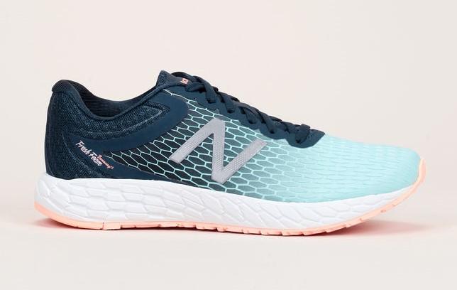 Baskets bi-matière bleu/turquoise détails mesh Running Course New Balance