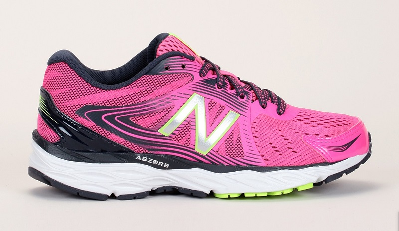 Baskets bi-matière rose détails mesh Running Course New Balance Performance, Baskets Femme Monshowroom