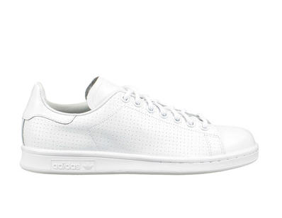 baskets blanches cuir stan smith blanc adidas originals. Black Bedroom Furniture Sets. Home Design Ideas
