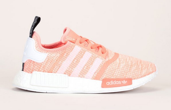 Adidas Originals Baskets multi-matière rose fluo/blanc Originals - Baskets Femme Monshowroom
