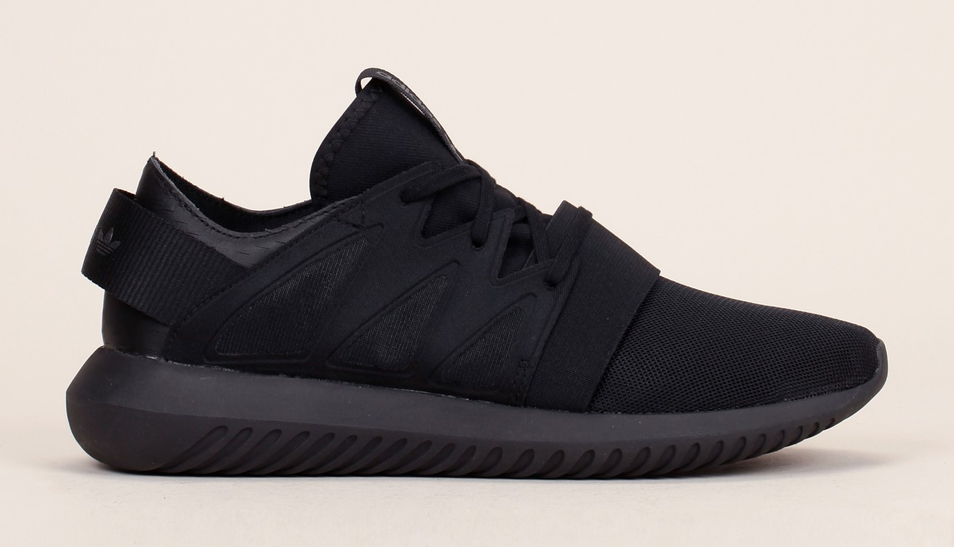 Baskets noires multimatières Tubular Viral Adidas Originals, Baskets Femme Monshowroom