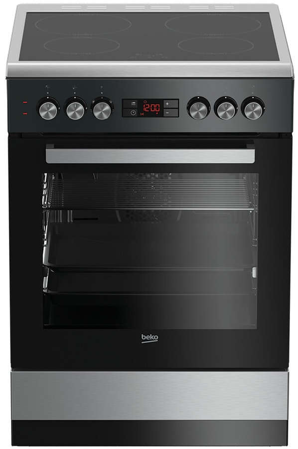 cuisini re vitroc ramique beko fsr67100gxcs inox soldes. Black Bedroom Furniture Sets. Home Design Ideas