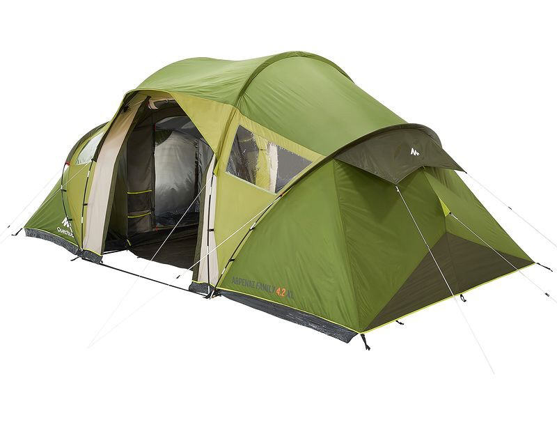Tente arpenaz family 4 2 xl quechua tente decathlon - Tente 4 places 2 chambres seconds family 4 2 xl ...