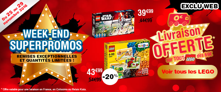 Black FriDay Toys'R'us - Jouets pas Cher Toys'R'us