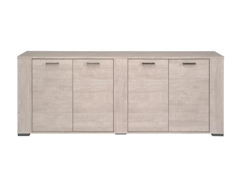 buffet 4 portes bois anvers buffet pas cher achatdesign ventes pas. Black Bedroom Furniture Sets. Home Design Ideas