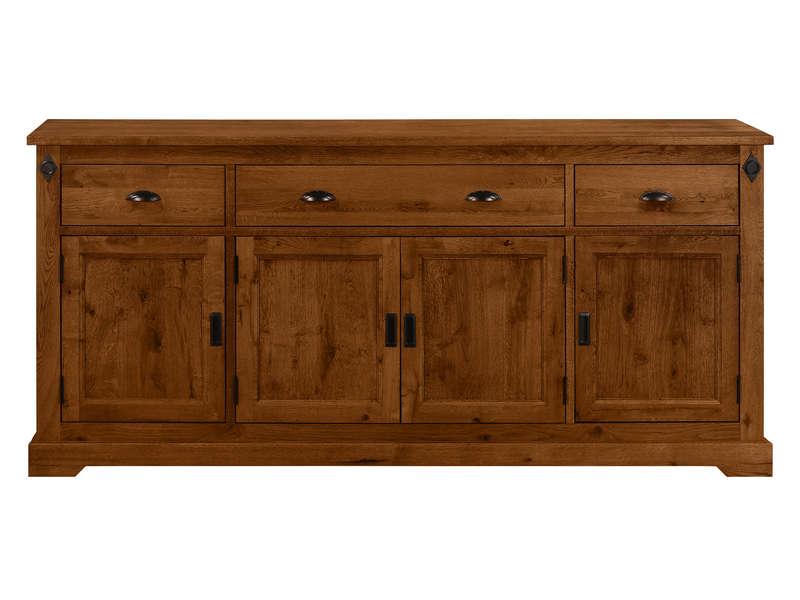 Buffet 4 portes 3 tiroirs EDWARD - Conforama