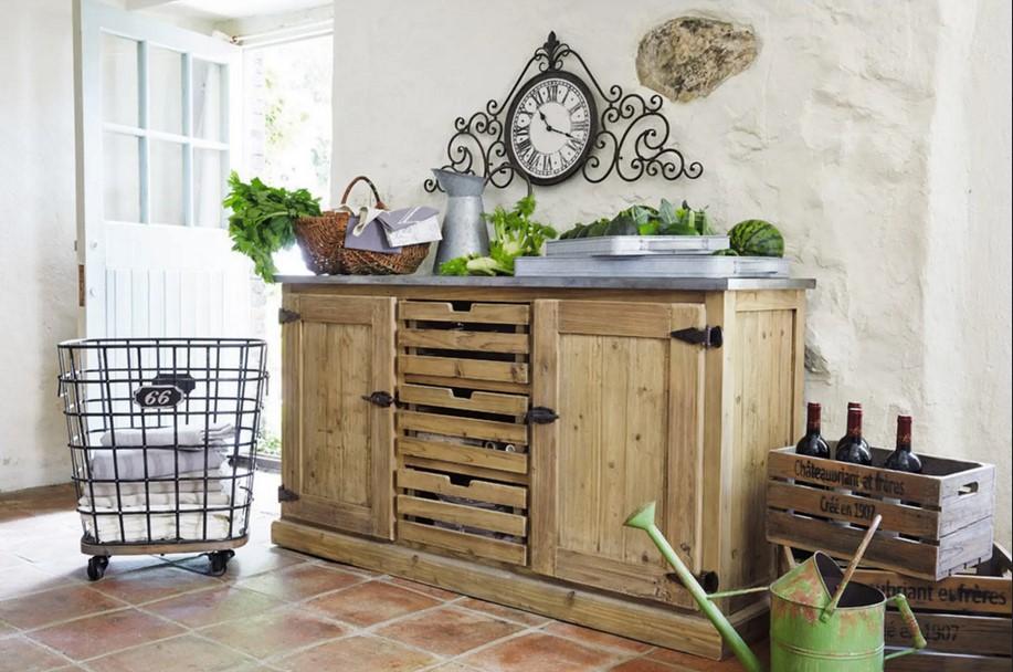 Buffet Maquis en pin recyclé - Maisons du Monde