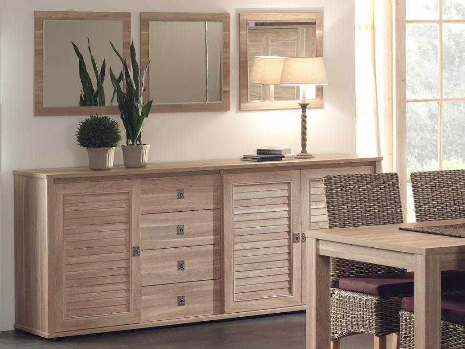 soldes buffet vente unique buffet ambrosia 3 portes et 4 tiroirs ventes pas. Black Bedroom Furniture Sets. Home Design Ideas